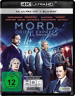 Mord im Orient Express Blu-ray UHD 4K + Blu-ray