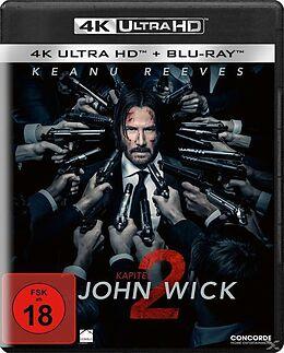 John Wick: Kapitel 2 - 2 Disc Bluray Blu-ray UHD 4K + Blu-ray