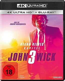 John Wick: Kapitel 3 Blu-ray UHD 4K + Blu-ray