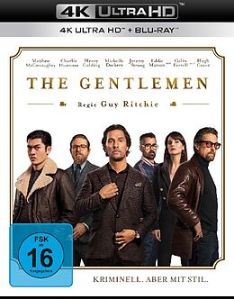 The Gentlemen Blu-ray UHD 4K + Blu-ray