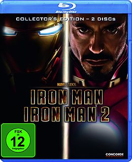 Iron Man 1+2 Blu-ray