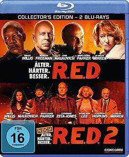 R.E.D. & R.E.D. 2 Blu-ray