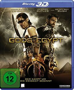Gods of Egypt Blu-ray 3D