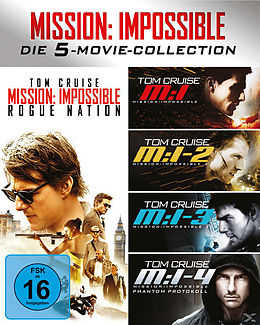 Mission Impossible 1-5 Collection - BR Blu-ray