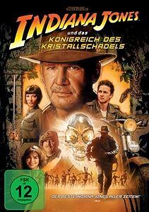 Indiana Jones und das Königreich des Kristallschädels DVD
