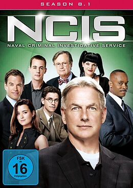 NCIS - Navy CIS - Season 8.1 / Amaray DVD