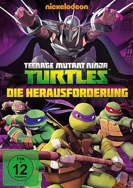 Teenage Mutant Ninja Turtles - Die Herausforderung DVD