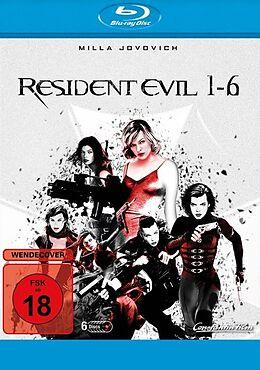 Resident Evil 1-6 - BR Blu-ray