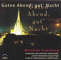 Matthias Eisenberg CD Guten Abend, gut' Nacht