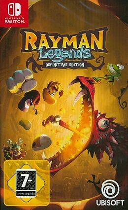 Rayman Legends - Definitive Edition [NSW] (D) als Nintendo Switch-Spiel