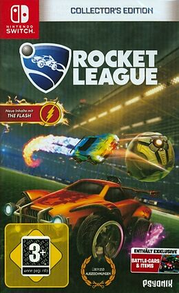 Rocket League Collector's Edition [NSW] (D) als Nintendo Switch-Spiel