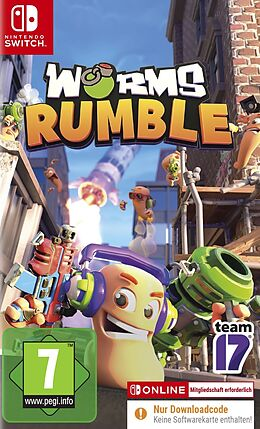Worms Rumble (Code in a Box) [NSW] (D) als Nintendo Switch-Spiel