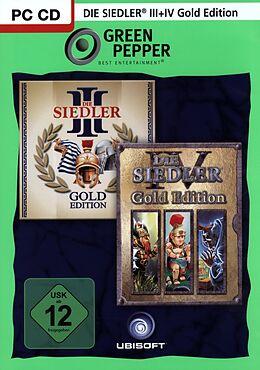 Green Pepper: Die Siedler 3 Gold + Die Siedler 4 Gold [DVD] [PC] (D) als Windows PC-Spiel