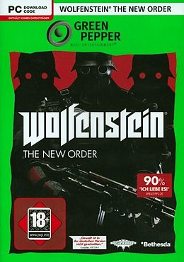 Green Pepper: Wolfenstein - The New Order [DVD] [PC] (D) als Windows PC-Spiel