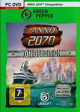 Green Pepper: Anno 2070 Königsedition [PC] (D) als Windows PC-Spiel