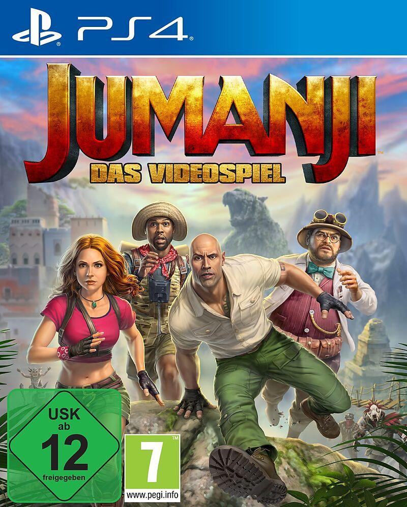 JUMANJI: Das Videospiel [PS4] (D)
