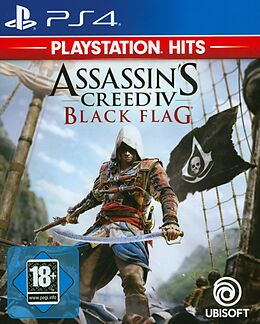 PlayStation Hits: Assassin's Creed 4 Black Flag [PS4] (D) als PlayStation 4-Spiel