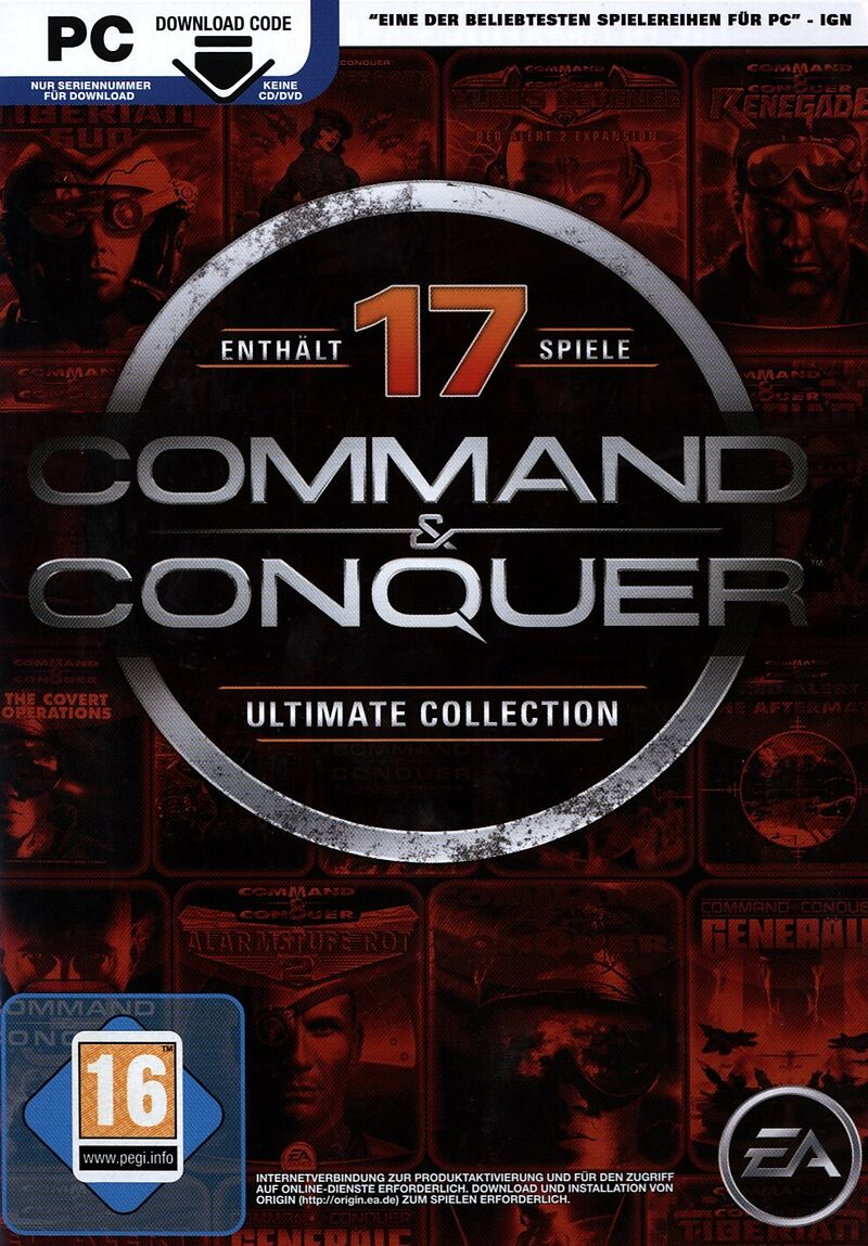 Pyramide: Command & Conquer: Ultimate Collection [PC] (D)