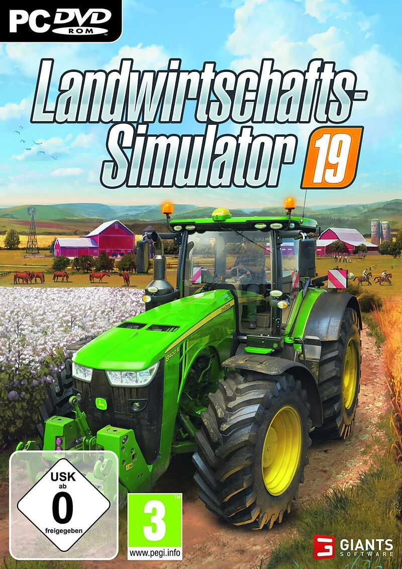 Pyramide: Landwirtschafts-Simulator 19 [DVD] [PC] (D)