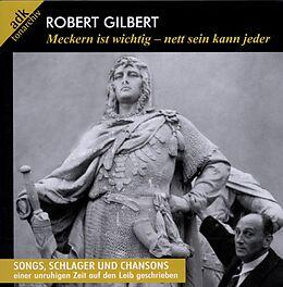 Various Artists CD Meckern Ist Wichtig-...(portrait Robert Gi