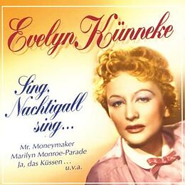 Künneke,Evelyn CD Sing, Nachtigall Sing