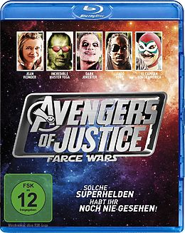 Avengers Of Justice: Farce Wars Blu-ray