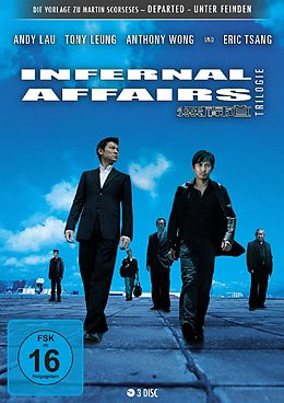 Infernal Affairs Trilogie DVD