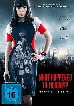 What Happened to Monday? DVD