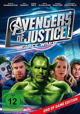 Avengers of Justice - Farce Wars DVD