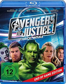 Avengers Of Justice - Farce Wars Blu-ray