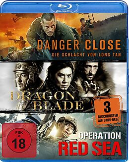 Kriegsfilm-box: Danger Close, Dragon Blade Blu-ray
