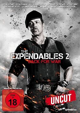 The Expendables 2 - Back For War DVD