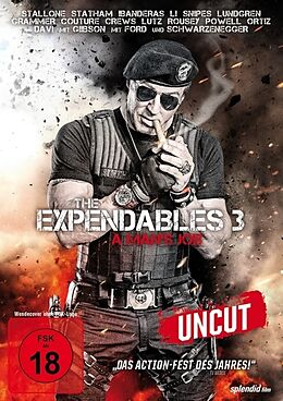 The Expendables 3 - A Mans Job DVD