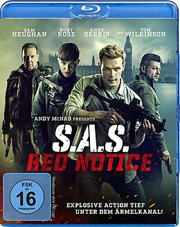S.A.S. Red Notice Blu-ray
