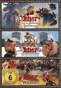 Asterix und das Geheimnis des Zaubertranks & Asterix im Land der Götter & Asterix und die Wikinger DVD