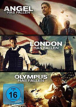 Olympus Has Fallen & London Has Fallen & Angel Has Fallen DVD