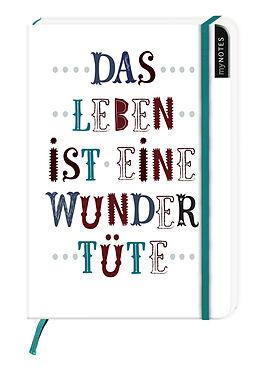 myNotes: Das Leben ist eine Wundertüte / Notizbuch groß / blanko [Versione tedesca]