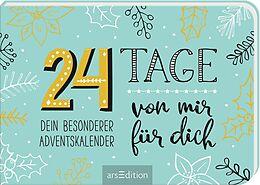 Kalender 24 Tage von mir für dich von