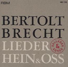 Bertold Brecht Lieder, Balladen & Songs