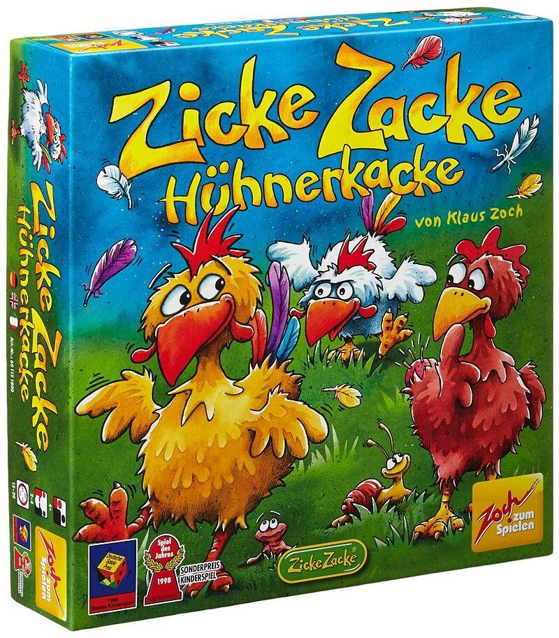 zicke zacke hühnerkacke  kinderspiele online bestellen