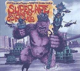 """Lee """"scratch"""" Perry, subatomic Sound System CD Super Ape Returns To Conquer"""