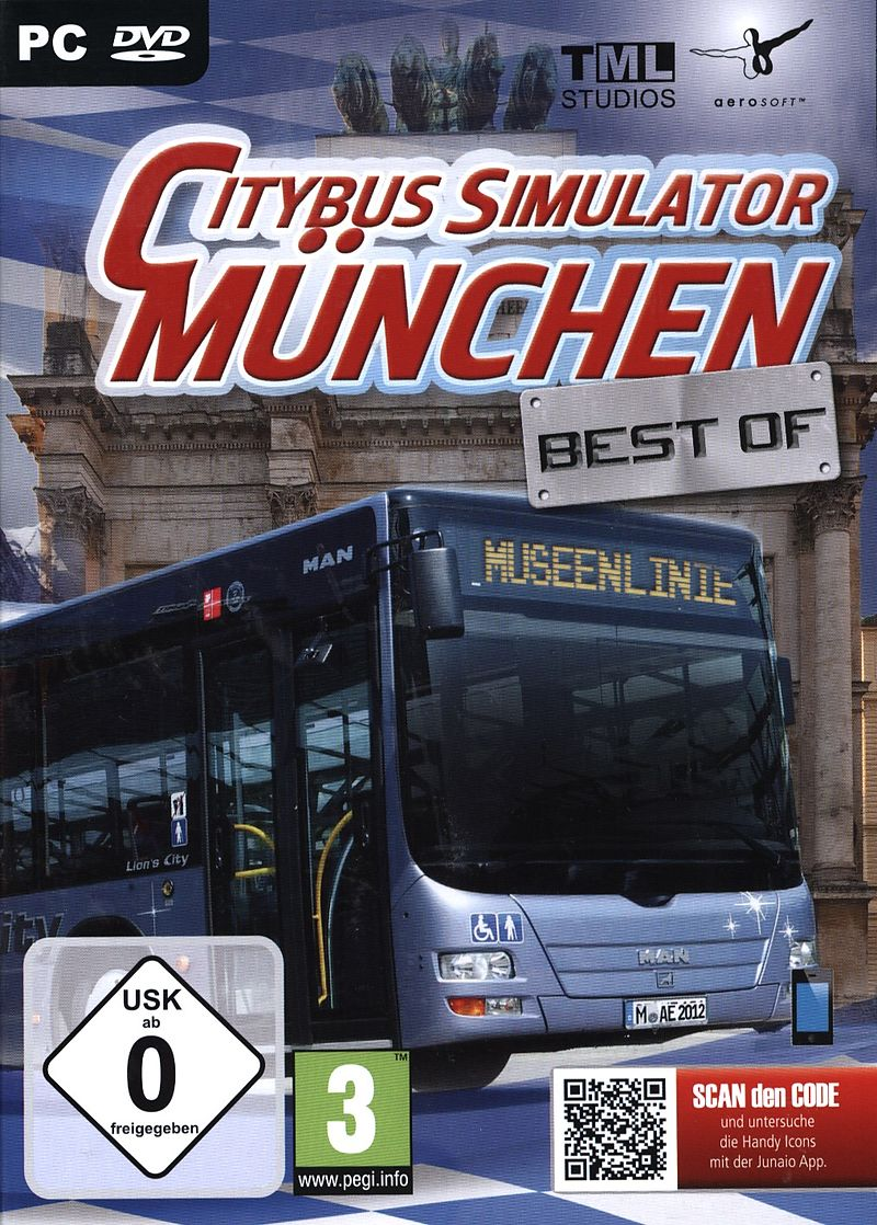 citybus simulator m nchen best of dvd pc d f r pc. Black Bedroom Furniture Sets. Home Design Ideas