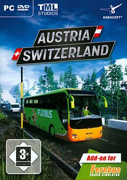 Fernbus Simulator - Austria/Switzerland [Add-On] [DVD] [PC] (D/E) als Windows PC-Spiel