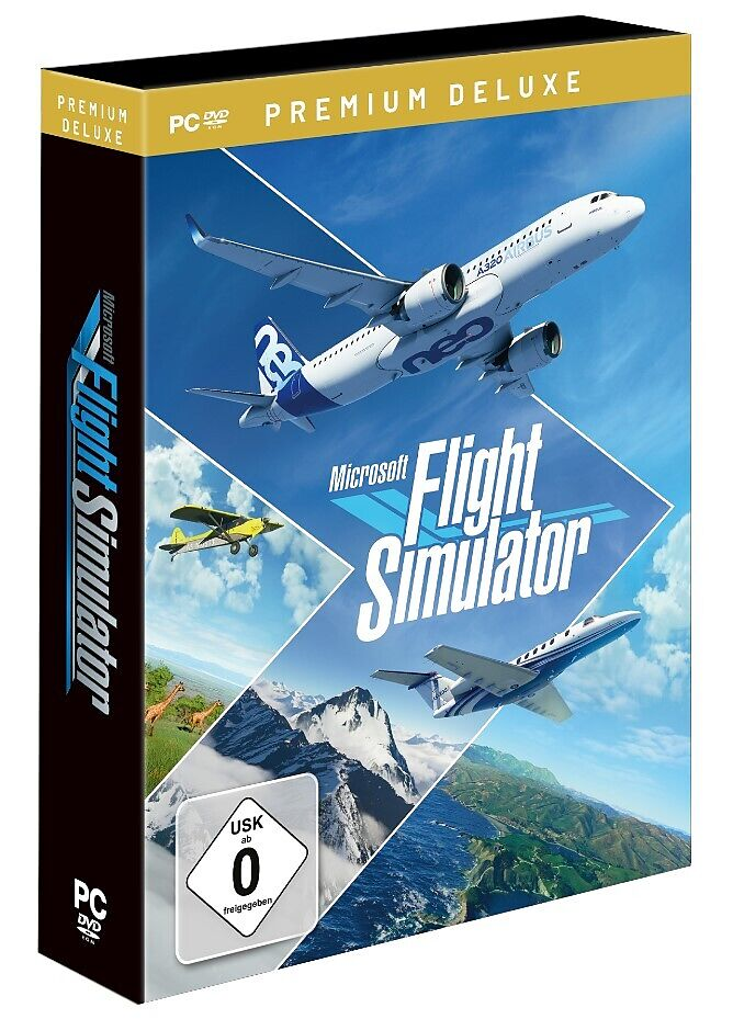 Microsoft Flight Simulator 2020 - Premium Deluxe [PC] (D)