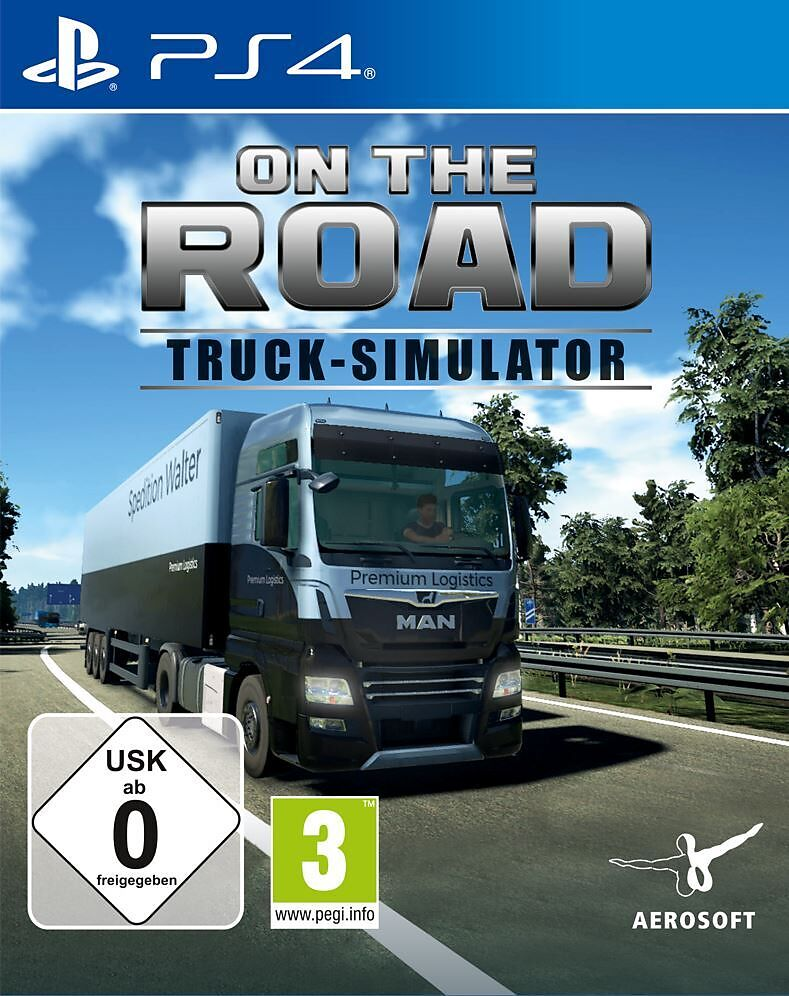 On The Road PS4 cover game