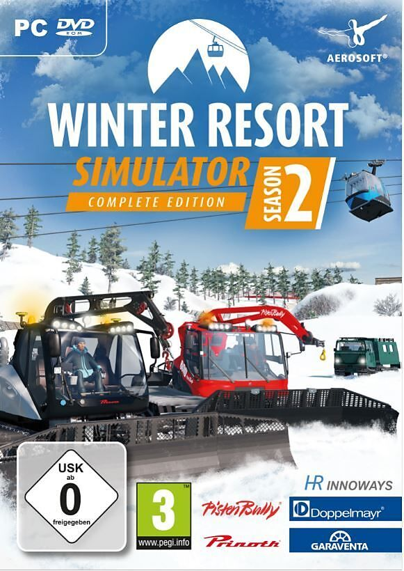 Winter Resort Simulator Season 2 - Complete Edition [DVD] [PC] (D)