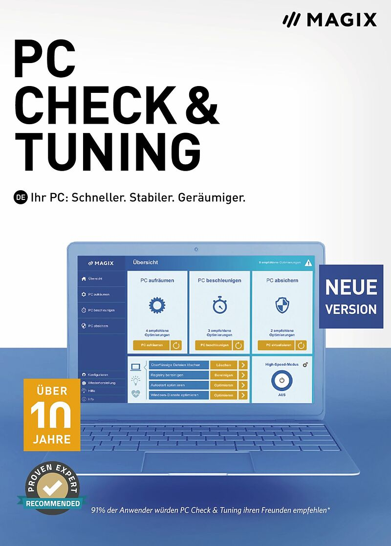 MAGIX PC Check + Tuning 2021 [PC] (D)