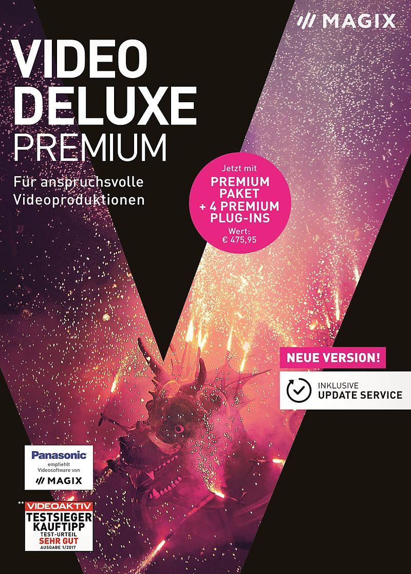 MAGIX Video deluxe 2018 Premium [PC] (D) - Videobearbeitung ...