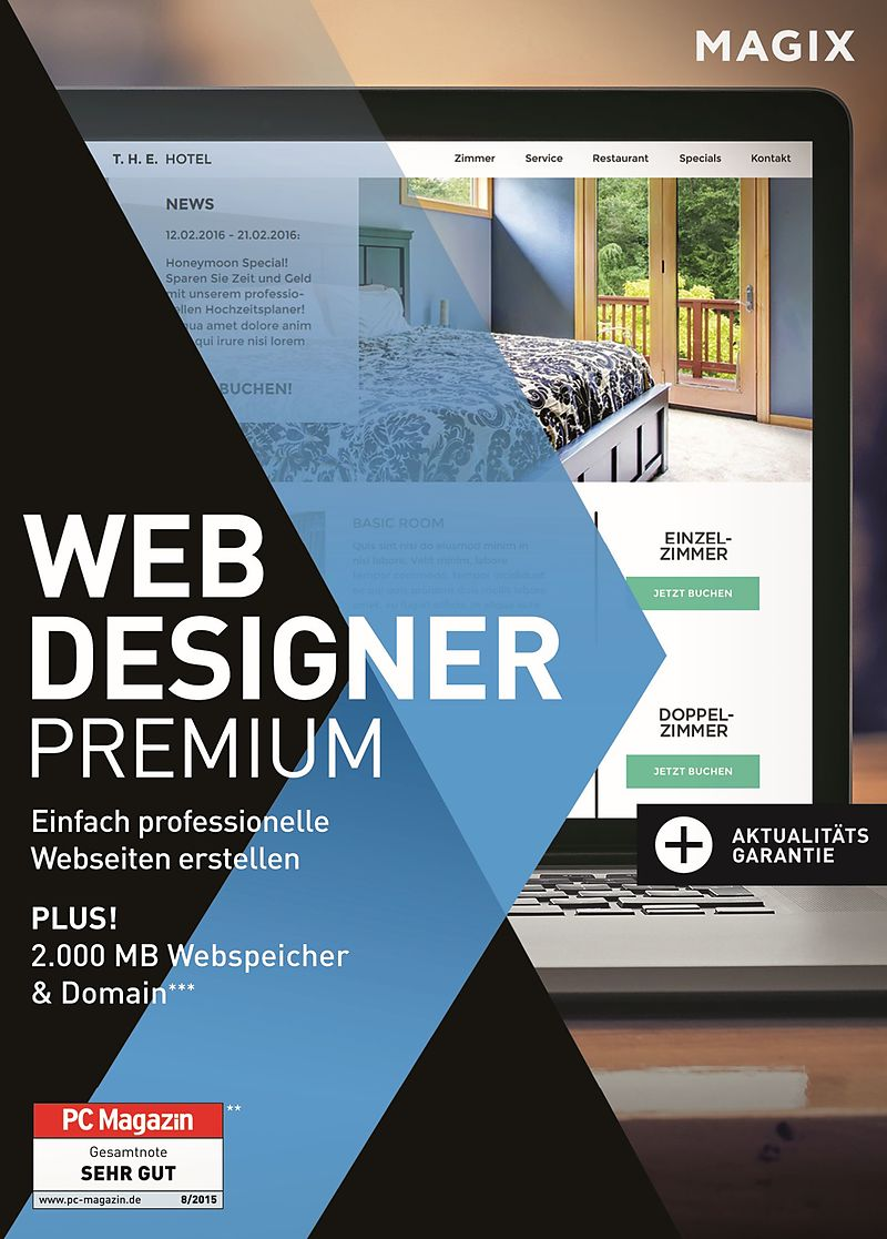 MAGIX Web Designer Premium [PC] (D) - Webdesign - Software online ...