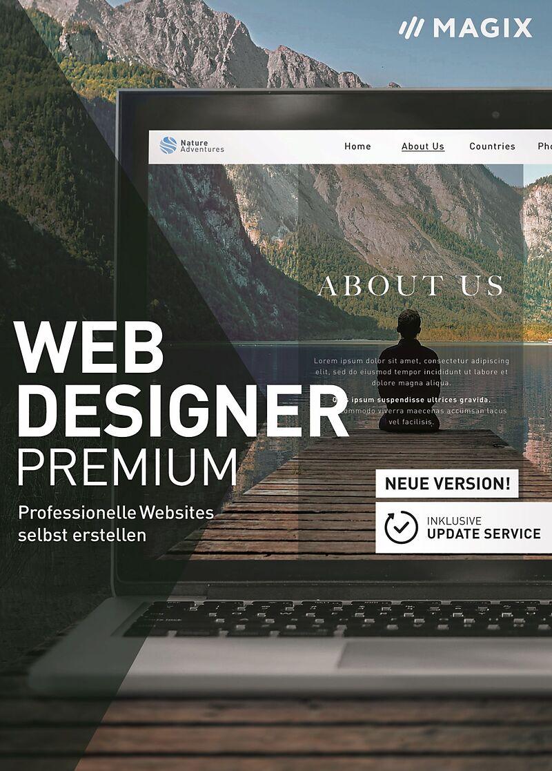 MAGIX Web Designer Premium 2021 [PC] (D)